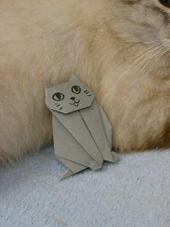 ヴィトンくんの折り紙
