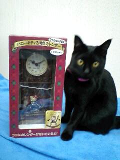 キティちゃんのカレンダー