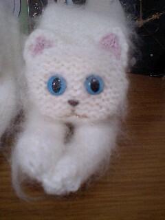 白猫まふら ラブラブ