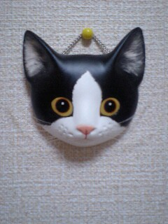 ボスくんお面と ちび黒猫シリーズ