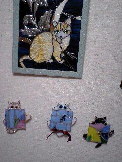 梅雨・縞猫時計 製作ちぅ