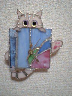 夜の海 猫時計 と 梅雨猫時計 完成