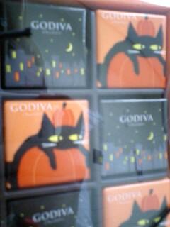 ゴディバな黒猫