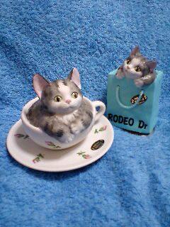 大宰府のオルゴール猫