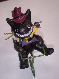 ハロウィンの黒猫