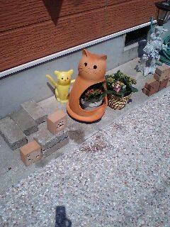 猫テラコッタ
