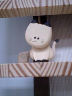 猫フェスティバル 木製時計