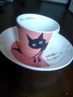 黒猫の食器